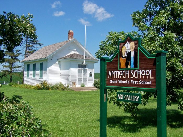 Check out the Antioch School in Anamosa.