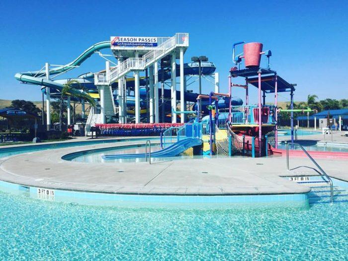 5. Aqua Adventure Water Park, Fremont