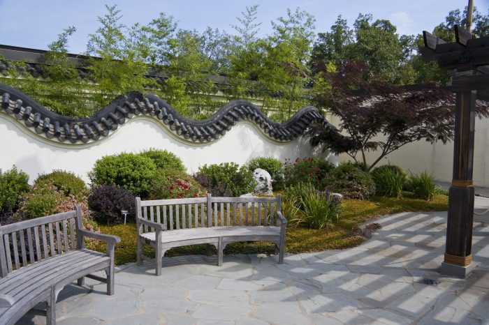 There are benches and secluded spots to enjoy some peace and quiet.