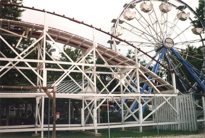 10. Amusement Park with Ancient Roller Coaster, Arnolds Park