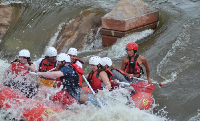 And areas of drops and rapids, making for a surprisingly diverse experience.