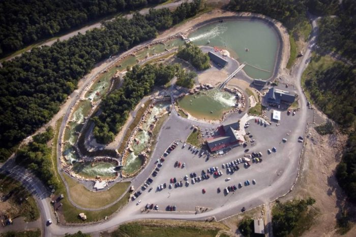 Adventure Sports Center International is a man-made whitewater course in McHenry.