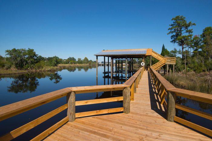 Discover the natural world at the Pascagoula Audubon Center.