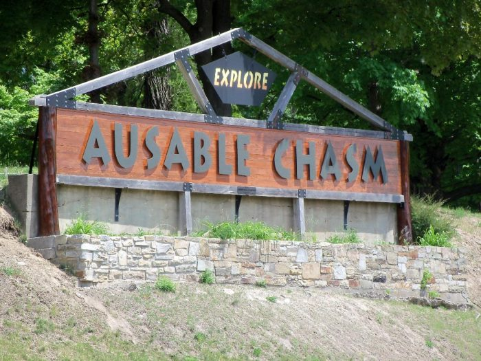 Opening to the public back in 1870, many consider Ausable Chasm to be the Grand Canyon of the Adirondacks.