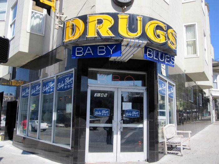 2. Baby Blues BBQ: 3149 Mission Street