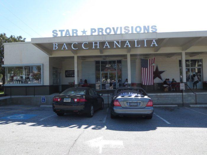 6. Bacchanalia— 1198 Howell Mill Rd, Ste 100, Atlanta, GA 30318