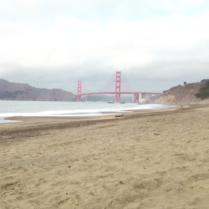 5. Chill out at Baker or Ocean Beach—let it all hang out at the former or bundle up for a bonfire at the latter.