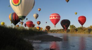 2. Attend the largest hot air ballooning event in the world. (Albuquerque)