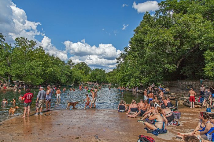 9. This city has the best places to cool off.