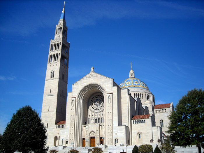 12. The Basilica of the National Shrine of the Immaculate Conception