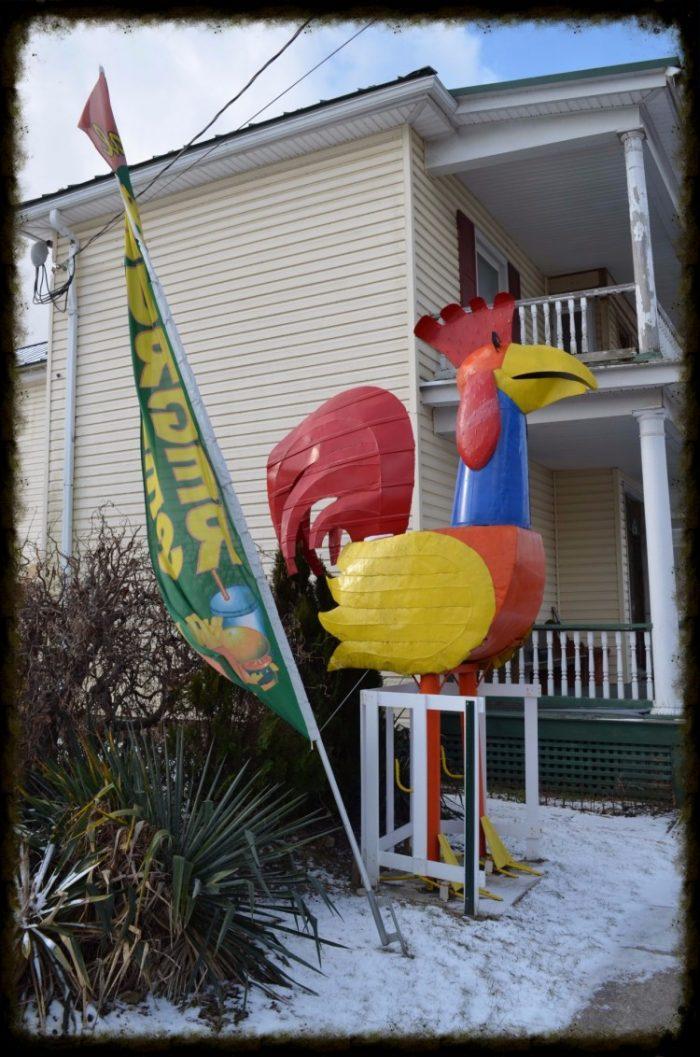 2. The Big Chicken, Wardensville