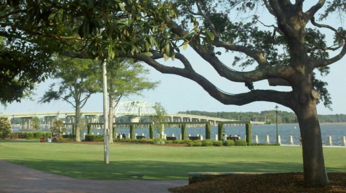 4. Henry C. Chambers Waterfront Park - Beaufort, SC