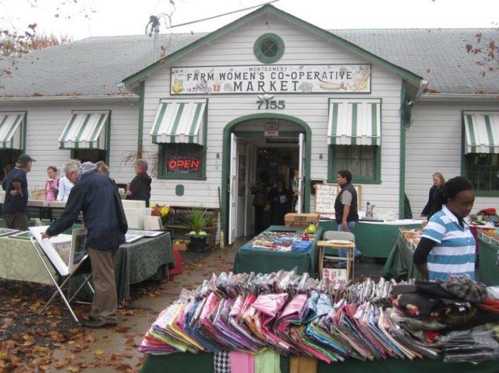 4. Bethesda Farm Women's Market