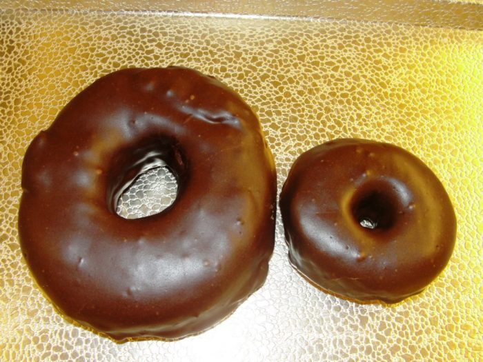 big and little donut