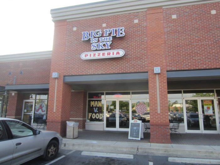 2. Big Pie In the Sky Pizzeria—2090 Baker Road, Kennesaw, GA 30144