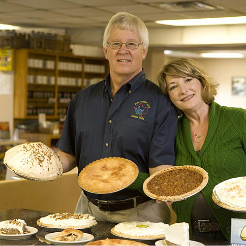 And the owners, John and Belinda Kemper, have taken the restaurant to new heights with their constant cheerful presence, and of course, their world-class pie recipes.