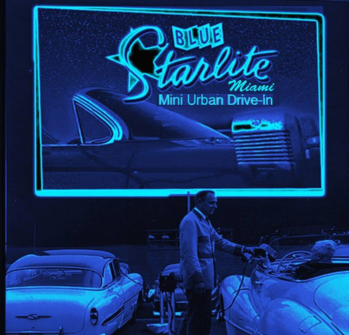 8. Check Out a Flick at The Blue Starlite Drive-in