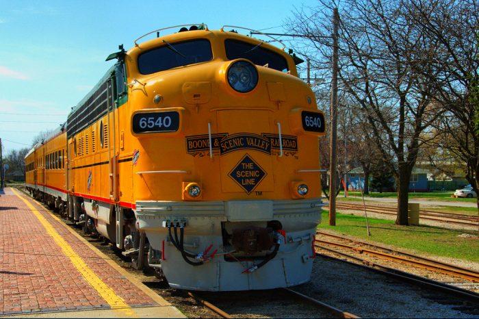 13. Take a scenic train ride through Boone County.