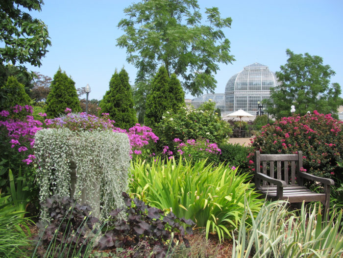 The United States Botanic Garden Is One Of The Oldest Botanic Gardens In  North America.