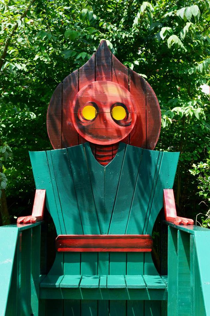 4. Braxton County Monster Chairs