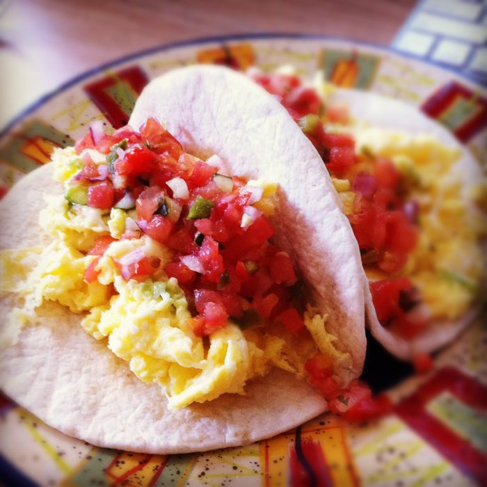 1. Breakfast tacos are king.