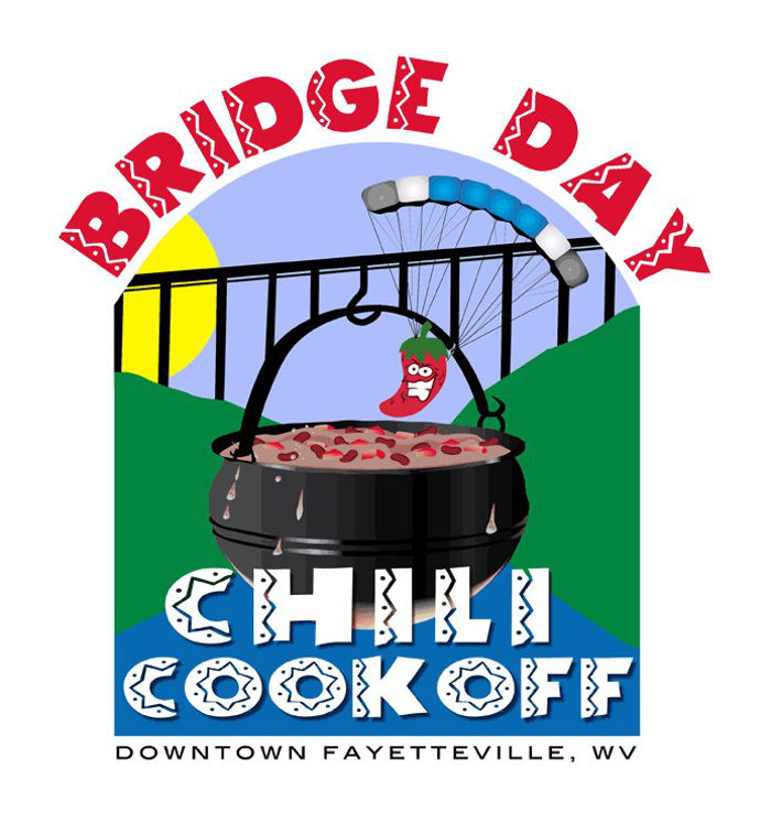 9. Bridge day Chili Cookoff, Fayetteville