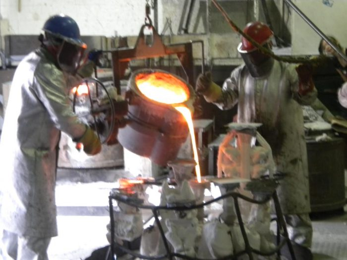 8. Witness a bronze pouring at the Shidoni Foundry and Galleries. (Tesuque)