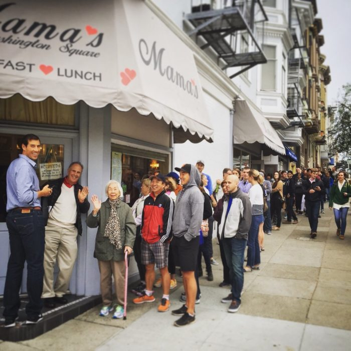 10. They'll happily stand in line for brunch, lunch, or anything really.