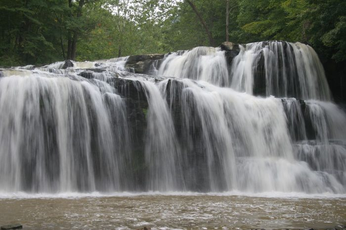 10. Brush Creek Falls, Mercer County