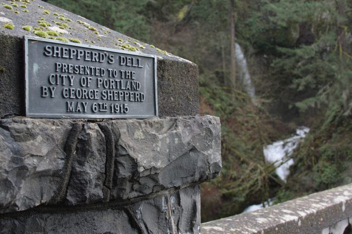 It's called Shepperd's Dell, which is one of the closest State Natural Areas to the city of Portland.