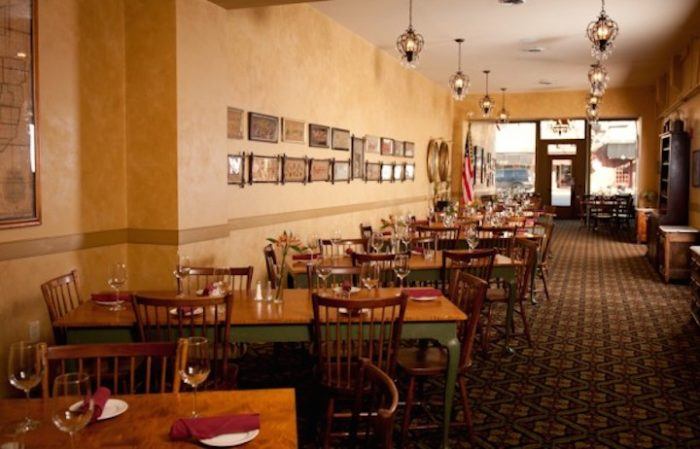 For a more private dining experience, you can book the Buckeye Room (pictured), which seats up to 40 guests and is handicap accessible.