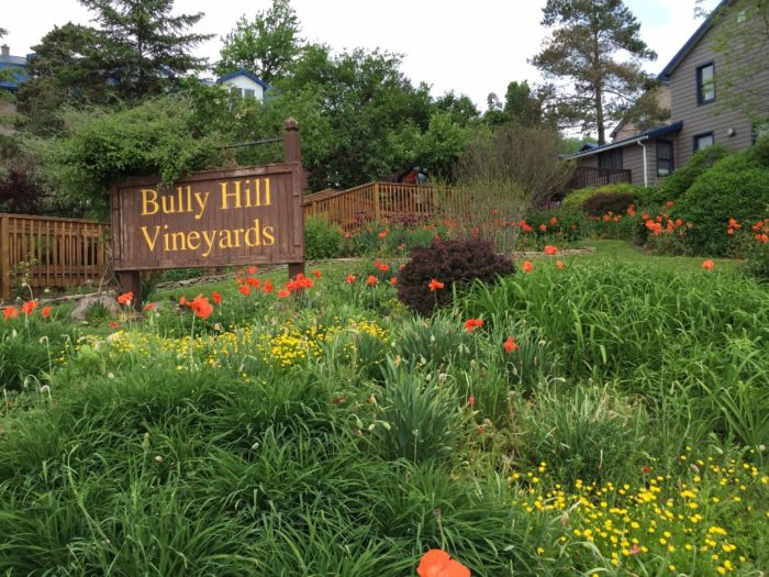 Don't let the wine tasting end! Stop by the amazing Bully Hill Vineyards & Restaurant!