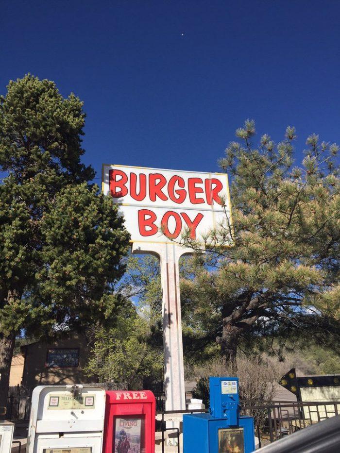 5. Burger Boy, 12023 State Highway 14,Cedar Crest