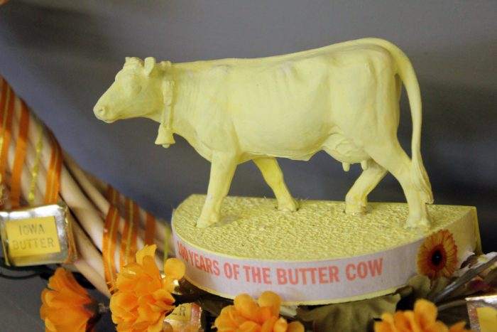 3. Check out the butter cow at the Iowa State Fair.