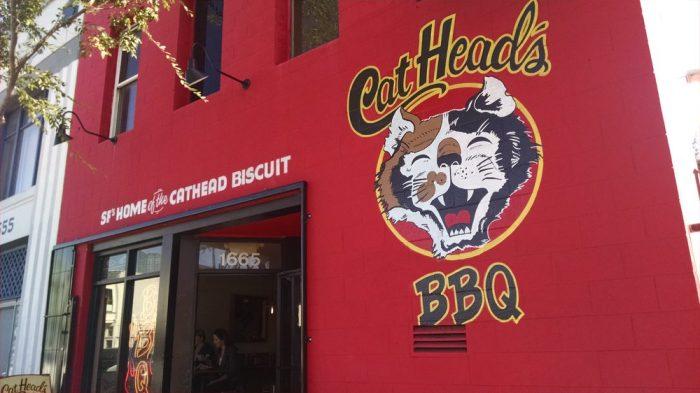 3. CatHead's BBQ: 1665 Folsom St.