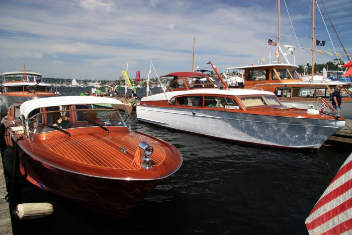 5. Go for a boat ride at the Center for Wooden Boats