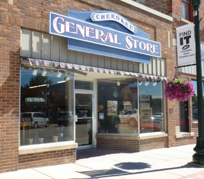 9. Cherokee General Store, Cherokee