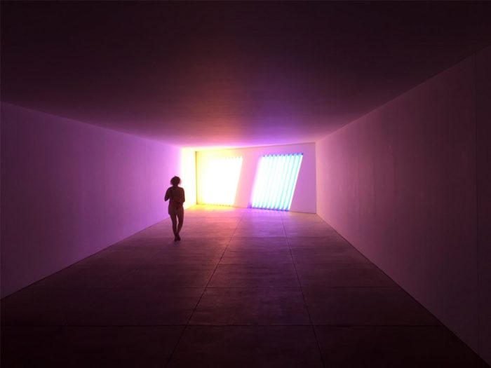 Marvel at some beautiful, interesting art pieces at the Chinati Foundation...