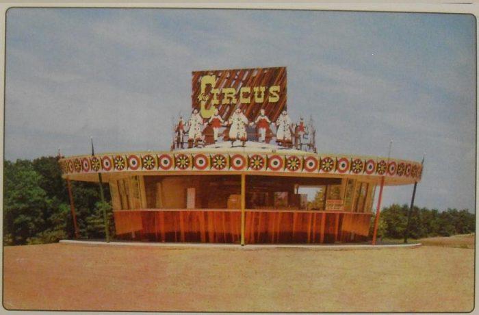 Circus Drive-In Circa 1960