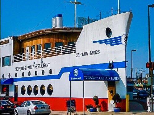 8. Captain James Seafood, Baltimore