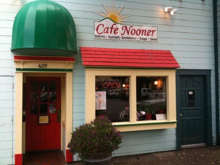 4. Cafe Nooner, 409 Opera Alley, Eureka