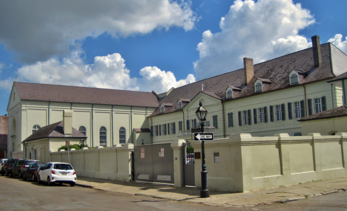 6) Old Ursuline Convent, 1100 Chartres St.