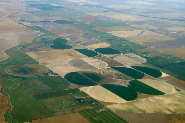 7. Unexplained Crop Circles