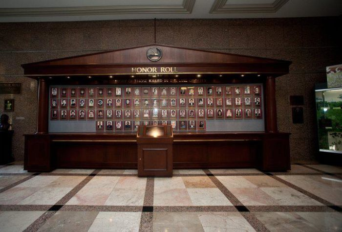 Overall the museum seeks to educate and honor the DEA. There is an impressive wall honoring DEA agents who have died in the line of duty.