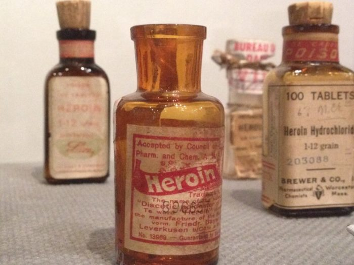 You move into more factual information about the history of drugs, including the opium dens and early folk medicines.