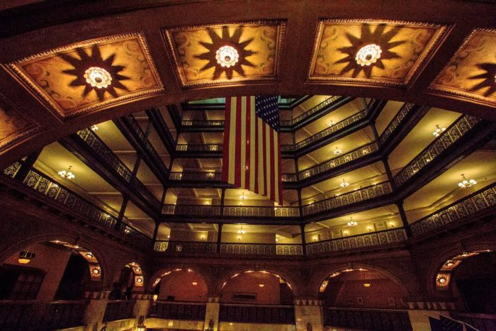 10. The Brown Palace Hotel