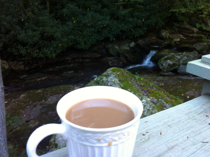 11. Enjoy Coffee With A Side Of Nature