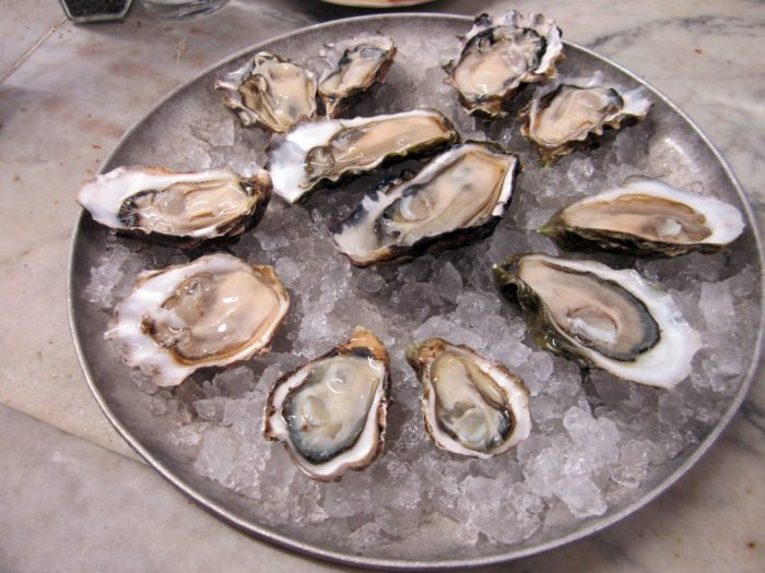Of course, you gotta get the oysters.