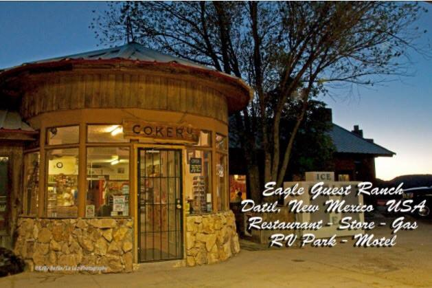 9. Eagle Guest Ranch, Highway 60 & State Road 12, Datil