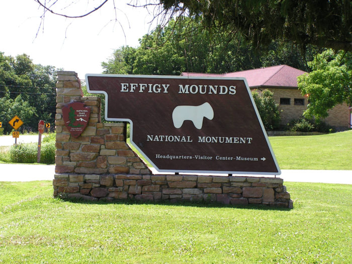 The trip starts at the Effigy Mounds National Monument in Harpers Ferry.